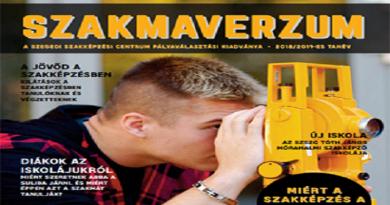Gazdag tartalmi kínálattal megjelent a Szegedi Szakképzési Centrum idei beiskolázási füzete