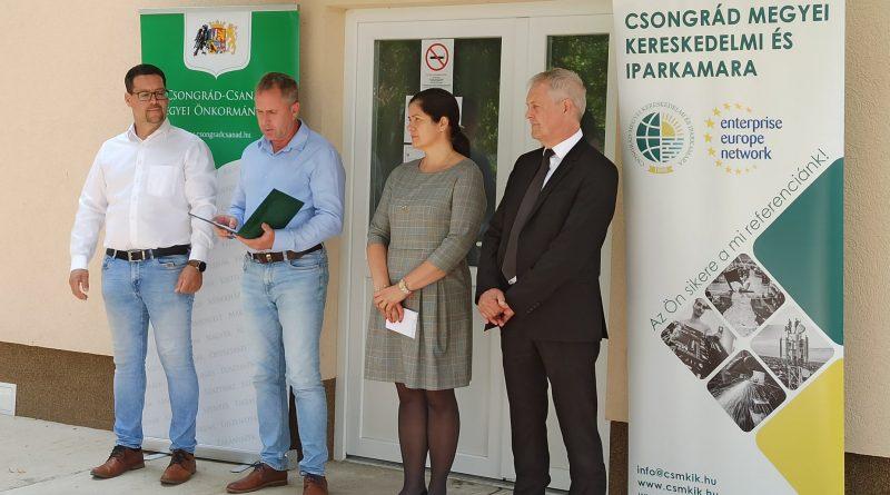 Céglátogatások a Csongrád-Csanád megyei gazdaság-és foglalkoztatásfejlesztési együttműködési program (paktum) keretében